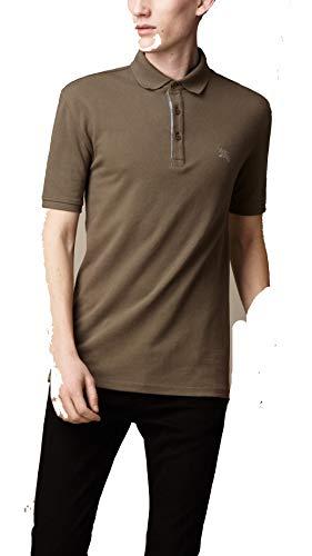 Burberry Poloshirt, Bulrush Grey Gr. XS, Grau