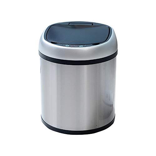 MinMin Mülleimer, eine neue Generation von vollständig gekapselten Innen- und Außen-Doppelmüllbehältern, die intelligente 6-Liter-Induktions-Mülleimer mit doppeltem Verwendungszweck laden. Geeignet fü