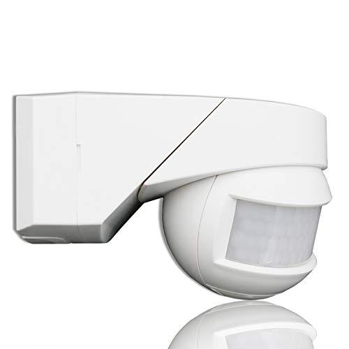QWYEURO PIR Motion Sensor Range Max.12m 180º+360º (white)
