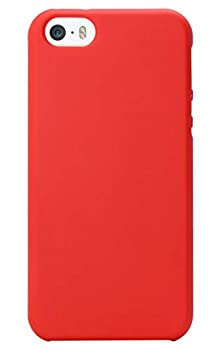 MUNDULEA Compatible iPhone SE  2016 Edition /iPhone 5/iPhone 5s Case,Shockproof TPU Ptotective Cover Compatible iPhone 5s  Red