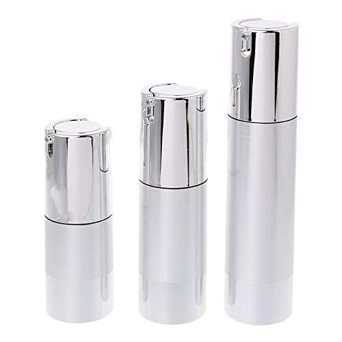 Bouteille VideOutil de voyage de récipient de pompe en plastique cosmétique vide de bouteille sans air 15 30 50ml-15ml