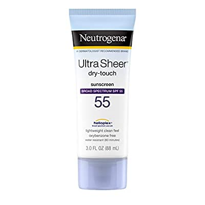 Neutrogena Neutrogena Ultra Sheer Dry-Touch Sunblock Lotion Spf 55, 3 oz from Neutrogena