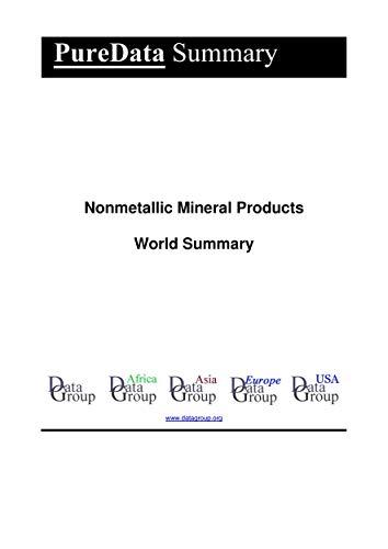 Nonmetallic Mineral Products World Summary: Market Values & Financials by Country (PureData World Summary Book 6335) (English Edition)