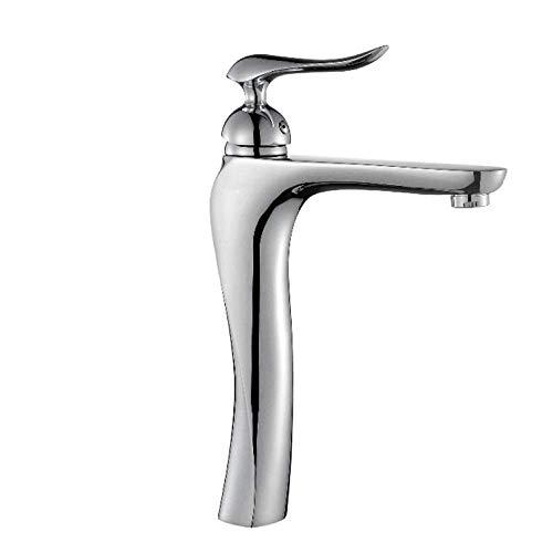 FSJIANGYUE Baño Sólido Cuenco de Cobre Faucet Caliente y frío Lavado de Agua Baño Grifer para la Familia Ducha Agradable (tamaño (Color : -, Size : Click to Select HI02012B)