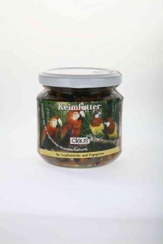 Claus Keimfutter Papageien 210ml