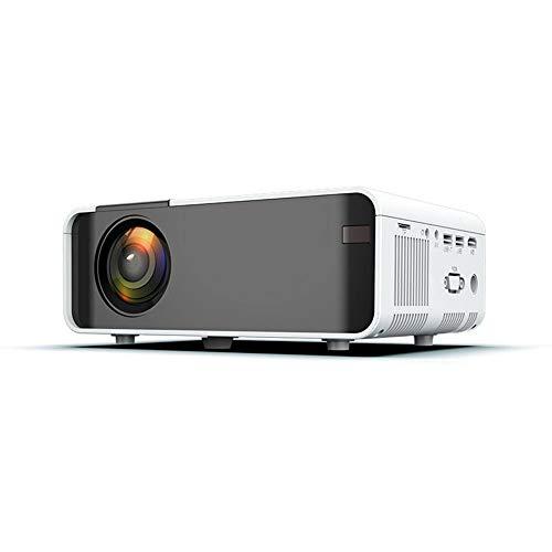 Mini Proyector Portátil Proyector LCD 4000 Lúmenes 1080P Proyector De Cine En Casa Con Control Remoto Proyector De Cine En Casa