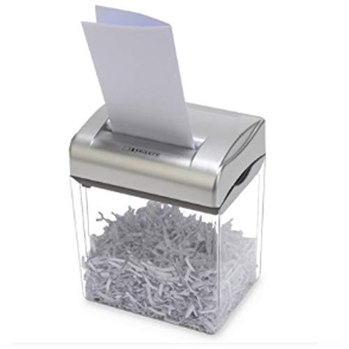 ZHGYD Escritorio pequeño portátil de Alta Potencia Potente Mini automática Shredder hogar y la Oficina Shredder Artefacto