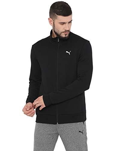 Puma Men's Track Jacket (84450101 Black_X-Large)