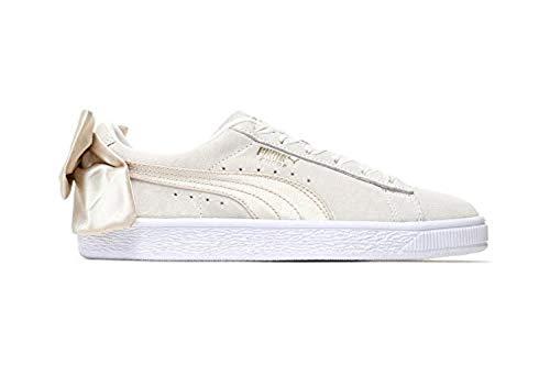 PUMA Damen Suede Bow Sneaker Beige, 38