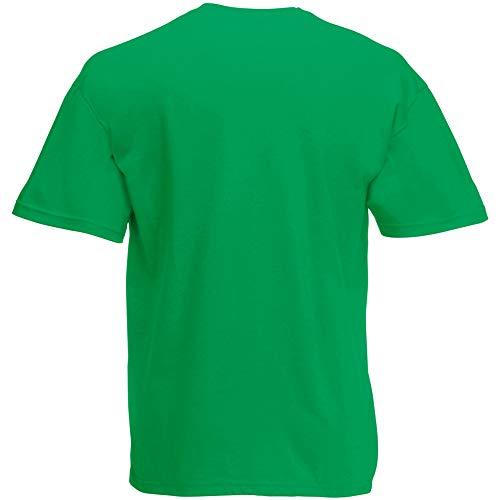 Fruit of the Loom Herren T-Shirt Original T 61-082-0 Kelly Green XL