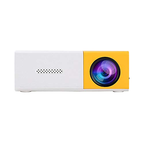 LED projector 400LM mini 720P 1080P portable built-in speaker