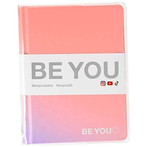 Be You Orginal Easy Diario Agenda, Formato Grande ma Mini, Collezione 2019/20, Pink