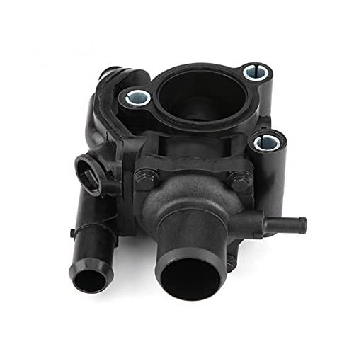 Crying Ajuste de Agua de la Carcasa del termostato para Ford Focus/Escape 2. 0L 2000 2001 2002 2003 2004 YS4Z-8592-BD Piezas de Repuesto automático