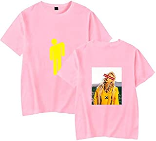 PAND Billie Eilish T Shirt Harajuku Casual Women Short Sleeves Streetwear Hip Hop Mens T-Shirt Cotton Soft Billie Eilish T...