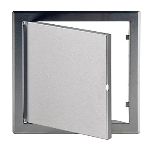 Puerta de inspección de acero inoxidable de 20 x 20 cm (200 x 200 mm)