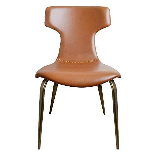 N&O Renovierungshaus Esszimmerstühle Esszimmerstuhl Nordic Light Weiche Vorhaut Freizeitstuhl Modern Minimalist Für Zuhause Restaurantstühle (Color : Grey 1 Size : 48x56x82cm)
