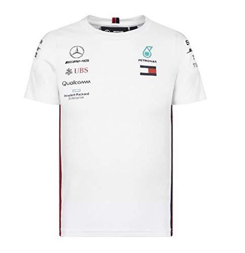 Mercedes-AMG Petronas Motorsport 2019 F1TM für Kinder, Weiß, Gr.-3-4 Jahre/ Etikettengröße- 104