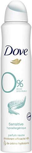 Dove Desodorante Spray 'Pearl Touch' sin aluminio salze, 6pack (6x