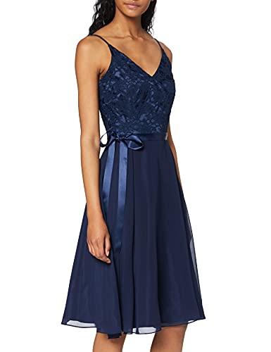 Swing 005240-76 hochzeitskleid, Blau (3030), 34 (Herstellergröße: X-Small)