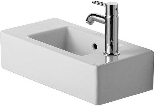 Duravit Handwaschbecken Vero Breite 50cm weiß WonderGliss 7035000091, 7035000091