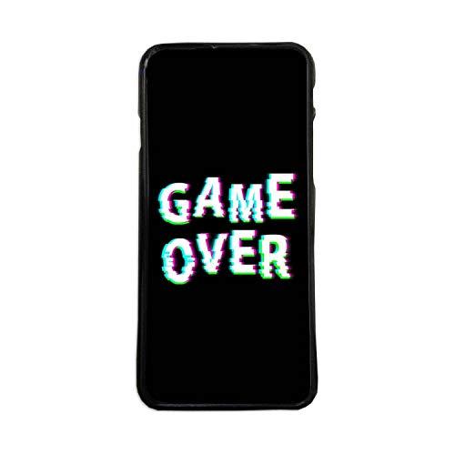 Carcasas De Moviles Fundas De TPU Compatible con El Modelo de Movil iPhone 6 Plus Game Over Videojuegos Frases Graciosas Moda