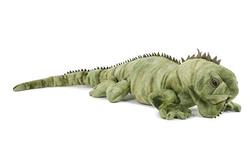 Stofftier Leguan 69 cm, Kuscheltier Plüschtier Leguane Echse Tier Tiere