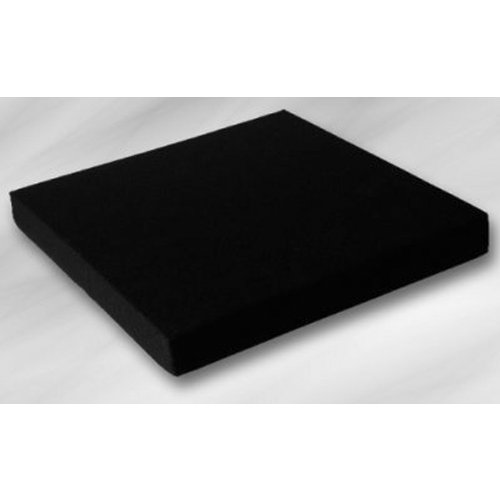 EcoKiss Sitzkissen schwarz 50x43x5cm(Werkmeister), Sitzkissen