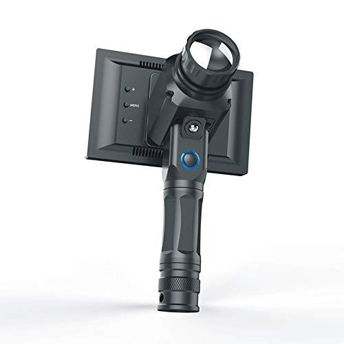 AUNLPB Infrarot-Wärmebildkamera, Nachtsichtgerät Hohe Vergrößerung Erwachsene Tragbares Nachtsicht-Teleskop Nehmen Sie Video-Funktion, 35-mm-Objektivplatte Mess