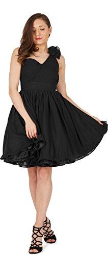 BlackButterfly 'Clarissa' Vintage Clarity Kleid im 50er-Jahre-Stil (Schwarz, EUR 36 – XS) - 4