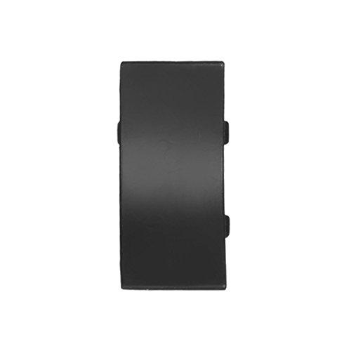 HOLZBRINK Verbinder passend zum Dekor Ihrer Abschlussleisten Schwarz Verbindungsstück PVC Küchenabschlussleiste 23x23 mm