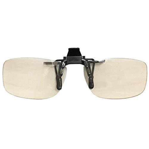 iCLIP for PC アイクリップフォーピーシー はね上げサングラス PCメガネ パソコン用メガネ メラニンサングラス クリップオン ブルーライトカット UVカット