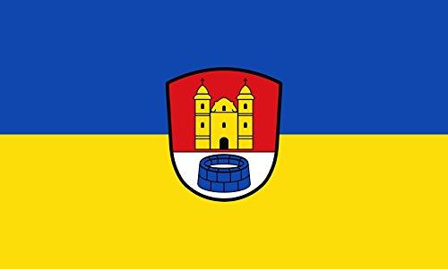 Unbekannt magFlags Tisch-Fahne/Tisch-Flagge: Breitbrunn a.Chiemsee 15x25cm inkl. Tisch-Ständer