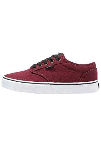 Vans Atwood Sneaker, Unisex Adulto, Rojo (Canvas Oxblood/Black), 37 EU