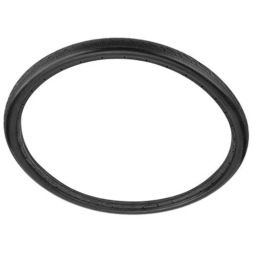 MARMODAY Neumático sólido de la bici de 26 pulgadas de carretera de bicicleta tubo de prueba de explosiones negro