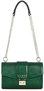 Guess Womens Cleo Cross-Body Handbag