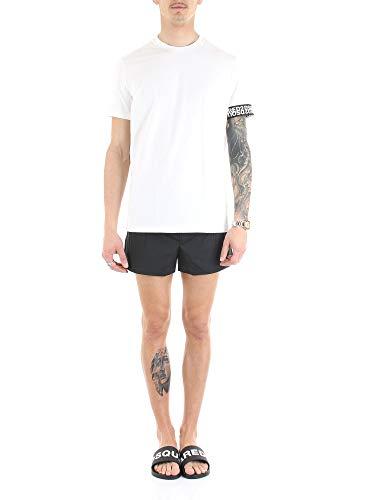 DSQUARED2 Heren Wit Ronde hals Ondergoed T Shirt