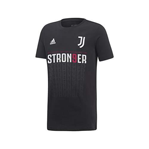 adidas Juventus STRON9ER Maglia Bambino Celebrativa 9 Scudetto 2019/20 Campione 38 9-10 Anni, Nero
