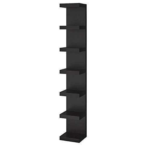 Ik ea Lack - Librería, marrón-negro, 30 x 190 cm