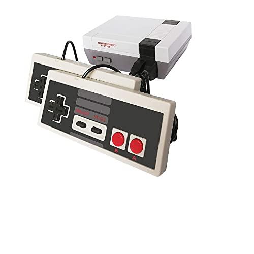 Classic Retro Games Mini Spielekonsole mit Integrierten Spielen 620 Spiele und AV Ausgang Video TV Gaming with 2 NES Controller Spielgeschenk für Erwachsene Kinder Interaktiv Handheld Konsole