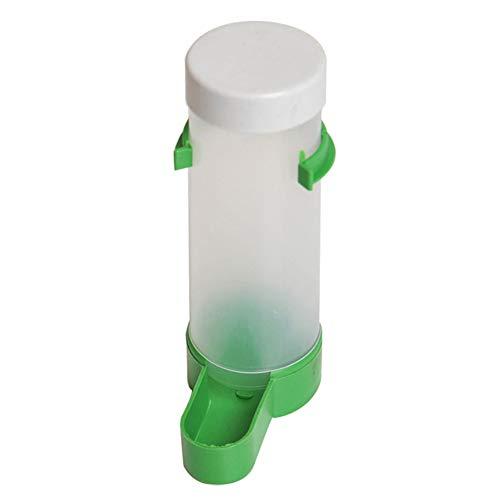 YOUNICER Comedero para pájaros automático de la Botella de Agua del pájaro alimentador de la Jaula de pájaros para el Canario del Loro