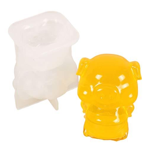 N/A. Juego de moldes de silicona 3D de resina epoxi para pendientes, collares, anillos, manualidades, decoración de mesa del hogar, organizador de joyería
