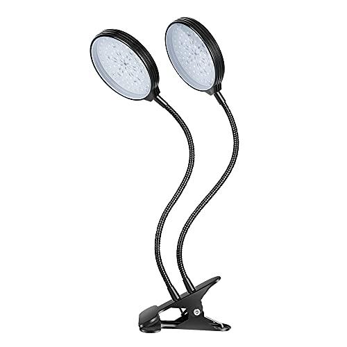 SJZERO USB Grow Light 15/30/45/60W Spettro Completo Controllo Timer Luce Crescente Piantina Giardinaggio Pianta Ortaggi Lampada per la Crescita