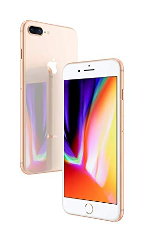 "Apple iPhone 8 Plus, Fully Unlocked 5.5"", 64 GB - Gold"