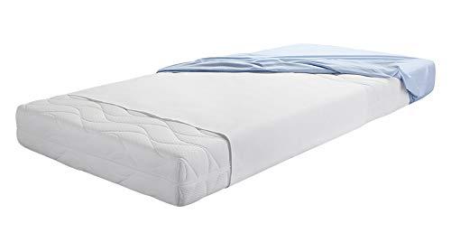 Dormisette Q60 Wasserdichte Querauflage für Matratzen, 90/150 cm, Baumwolle/Reinweiß