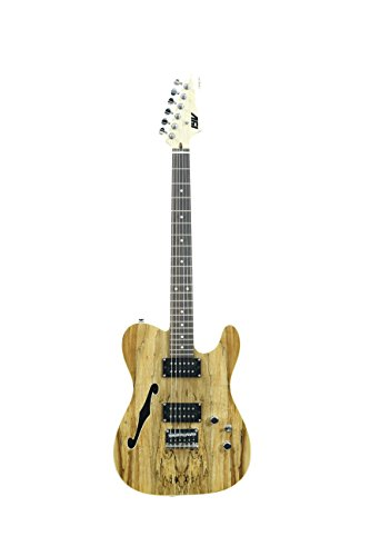 ivy ITF-300 NA Tele Solid-Body Electric Guitar, Natural Maryland