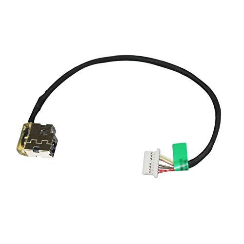 AC DC in Power Jack Charging Port Cable for HP 15-bs113dx 15-bs115dx 15-bs121nr 15-bs131nr 15-bs132nr 15-bs134wm 15-bs144wm 15-bs158cl 15-bs168cl 15-bs178cl 15-bs197cl Laptop