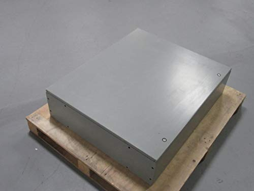 "Hoffman CSD36308 Wall-Mount Enclosure, NEMA 4/12, Steel, 36.00"" x 30.00"" x 8.00"", Gray"