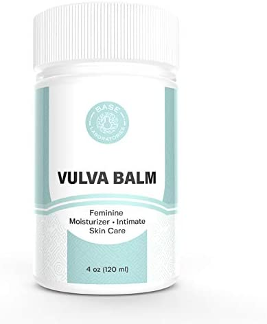 Base Laboratories Organic Vulva Balm Soothing Moisturizer for Women Topical Labia Cream for product image