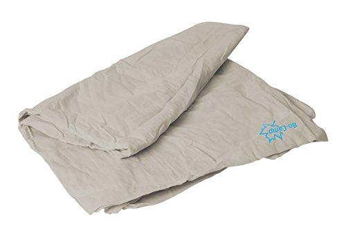 Bo-Camp - Drap pour sac de couchage - polycoton -...