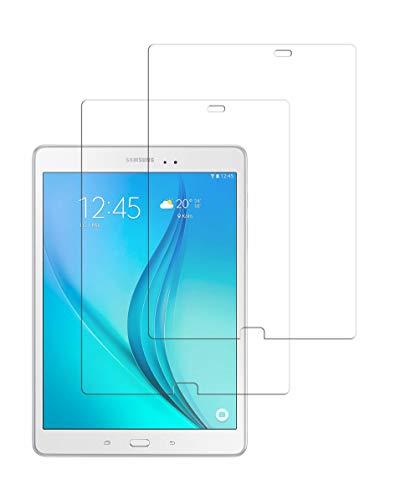 TECHKUN [2 Stück Panzerglas Schutzfolie Samsung Galaxy Tab A 9.7 Panzerglas, für T550/ T555N